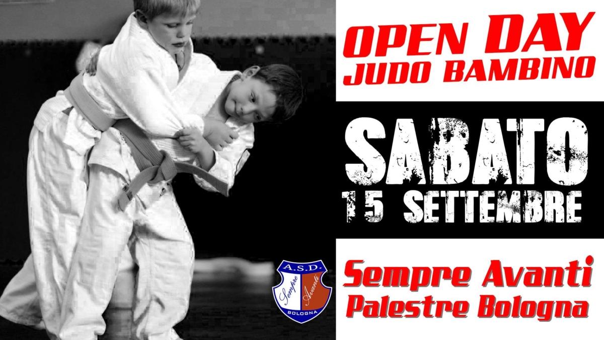 openday Judo Bambini 2018